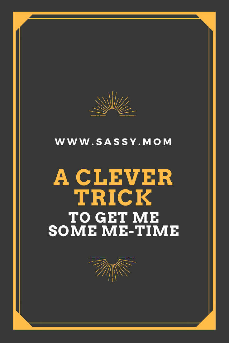 Every mom or dad likes to have me-time especially after a child comes into the picture. I used my smartphone for this hack. Read how I did it.