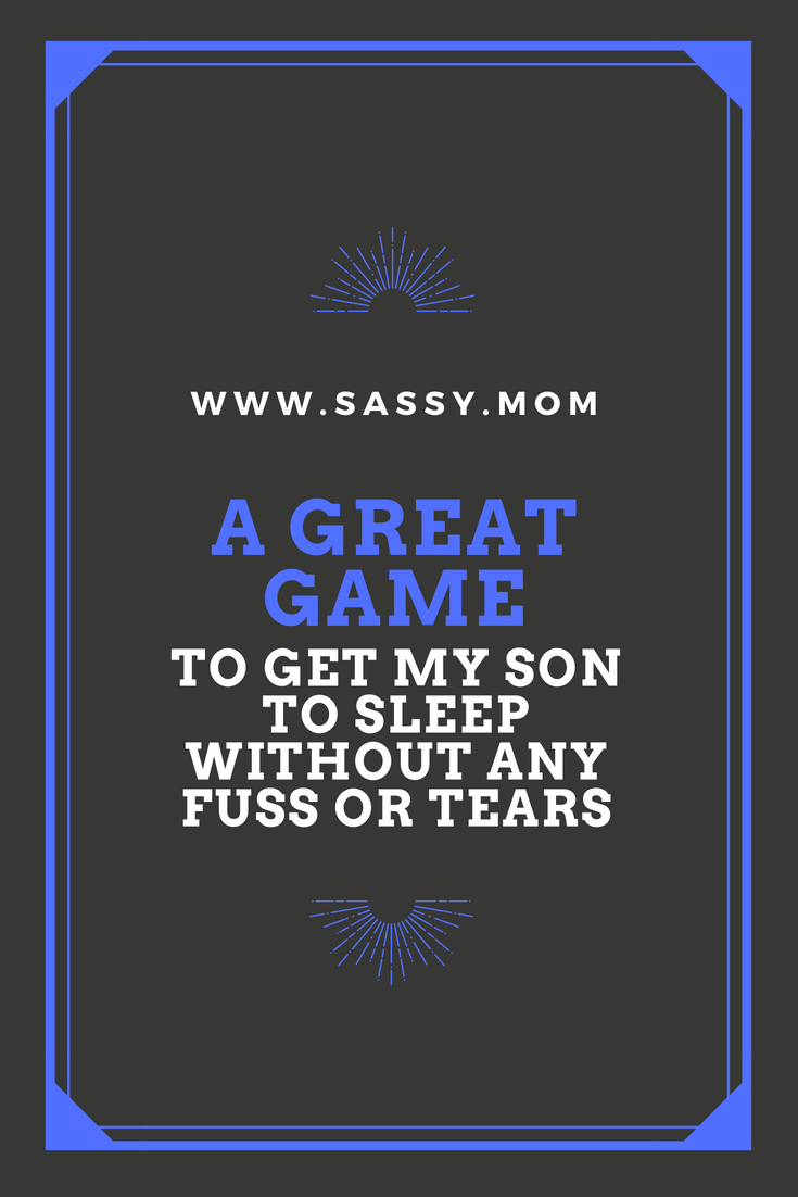 This is a great way I got my son to sleep. After you're past him figuring out how it works, he will play along and fall asleep! Find out how I did it.