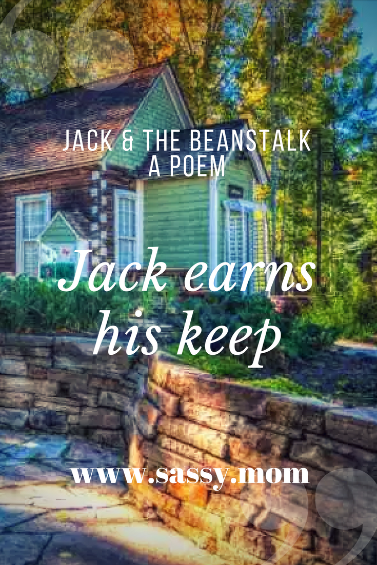 Jack and the beanstalk - an alternative poem