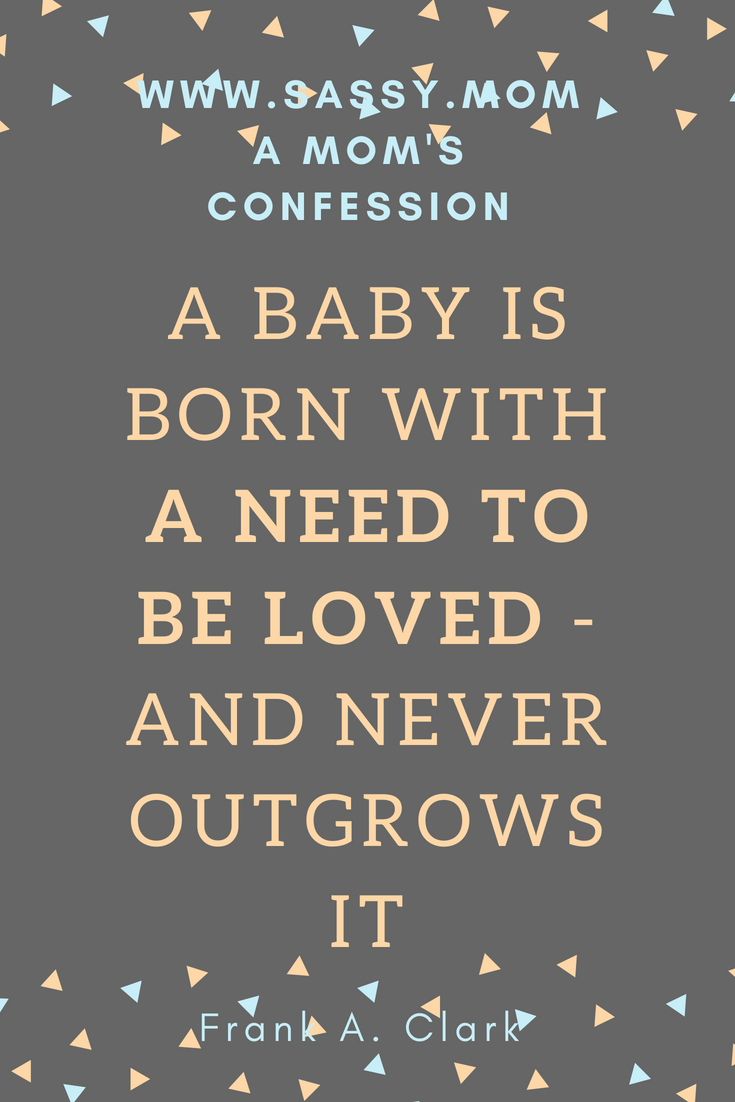 Confession: I didn't feel like a mom when my son was born and I told no one for fear of judgement and lack of support