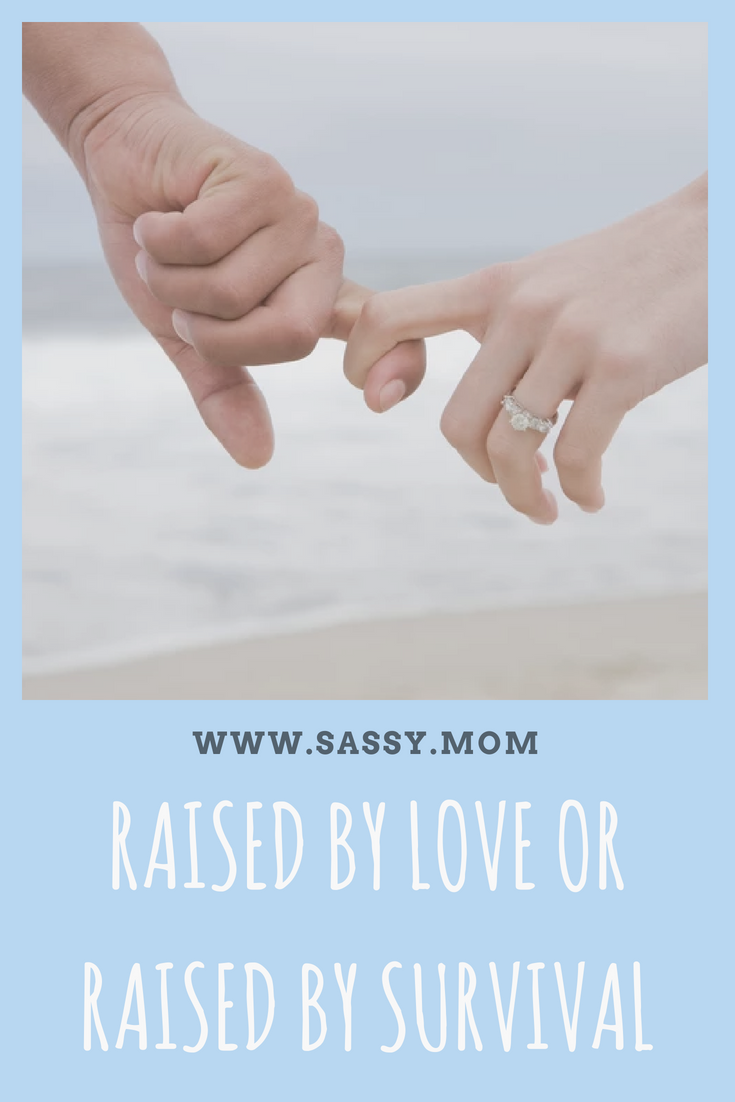 My husband and I grew up in families that were worlds apart in parenting culture. He was raised to survive. The differences in our upbringing reared its ugly head when our son was born.